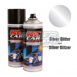 Ghiant RCC Spray Color Silver Glitter 150ml Lexan