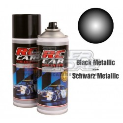 Ghiant RCC Spray Color Black Metallic 150ml Lexan
