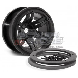 Axial 2.2 Rockster Beadlock Wheels BLACK