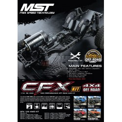 MST CFX 1/10 4WD Off-Road Car Kit