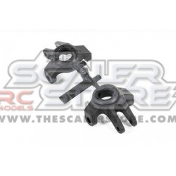 Axial Double Shear Steering Knuckles Set Wraith