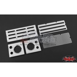 RC4WD Aluminum Front Grill and Headlight Surrounds for...