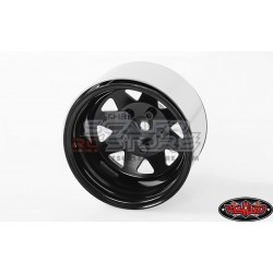RC4WD 5 Lug Deep Dish Wagon Steel 1.9 Stock Beadlock...