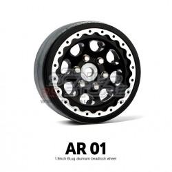 Gmade 1.9 AR01 6 Lug Beadlock Aluminum Wheels