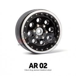 Gmade 1.9 AR02 6 Lug Beadlock Aluminum Wheels