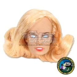 1/10 Blonde Woman Fully Painted Head