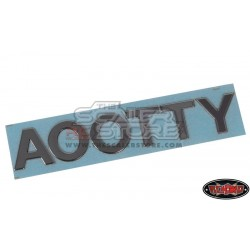 RC4WD Steel Lettering Kit for Hilux
