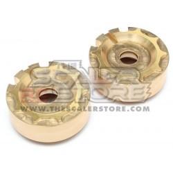 Team Raffee Brass Weights for Portals TRX-4(2)