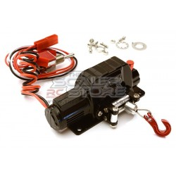Integy Alloy Power Winch 1/10 BLACK