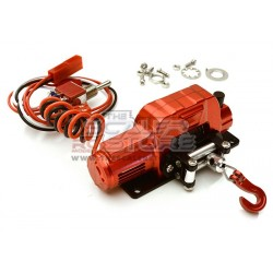 Integy Alloy Power Winch 1/10 RED
