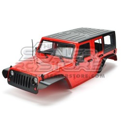 Xtra Speed Jeep Rubicon JK Unlimited body RED 313mm