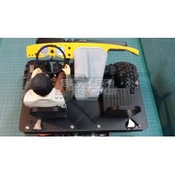 TSS Unimog 406 Seats and Motor Cover
