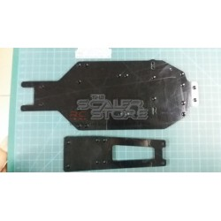 TSS TA02/FWD Delrin Double Deck Chassis Plates