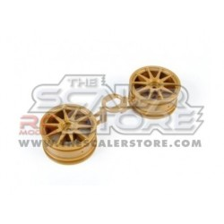 Tamiya 1.9 Subaru Impresa WRC 2003 Wheels (2)