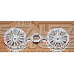 Tamiya 1.9 Citroen Xsara WRC Wheels (2)