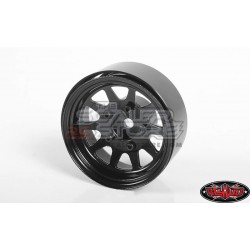 RC4WD OEM Steel 1.55 Beadlock Wheel(4) BLACK
