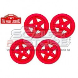 Italtrading Lancia Stratos Wheel Set RED (4)