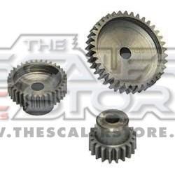 Robitronic 48p 24T steel pinion