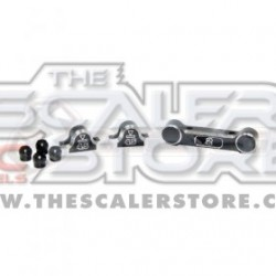 3Racing Aluminum Rear Suspension Mounts For Sakura Mini