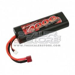 Robitronic 4000mAh 2S 45C Lipo Pack Stick Pack