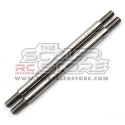 Yeah Racing Stainless Steel Link M4 5x80mm Total(2)