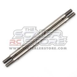 Yeah Racing Stainless Steel Link M4 5x95mm Total (2)