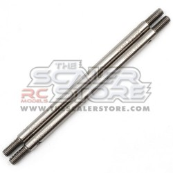 Yeah Racing Stainless Steel Link M4 5x100mm Total(2)