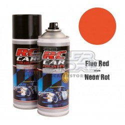Ghiant RCC Spray Color Fluo Red 150ml Lexan