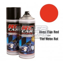 Ghiant RCC Spray Color Fluo Deep Red 150ml Lexan