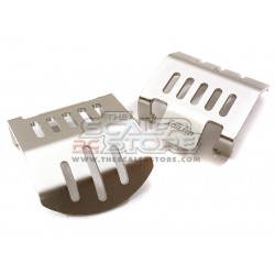 Integy Traxxas TRX-4 Alloy Differential Skid Plates (2)...